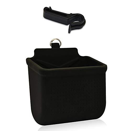 Topfit Auto Air Vet Silikon Aufbewahrungsbox, Handyhalter Tasche Car Cradle Mount Ordentlich Organizer für Münze Schlüssel Fall Sonnenbrille