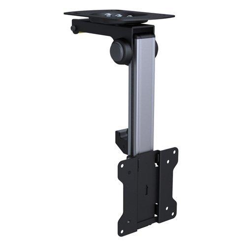 Premium TV Deckenhalterung, bis zu 105° neigbar für Dachschrägen, Höhe verstellbar, max. Traglast 15kg, max. VESA 100x100, universell HALTERUNGSPROFI CL2