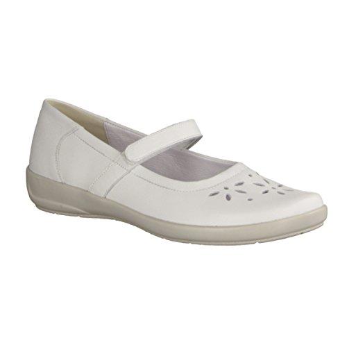 Semler FLORA F5805017010 femmes Mocassins, Blanc