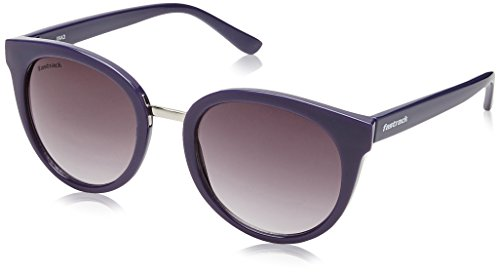 Fastrack UV Protected Oval Women\'s Sunglasses - (C065BK2F|53|Smoke (Grey / Black) Color)