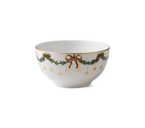 Royal Copenhagen - Star Fluted Christmas - Schale - Porzellan - 180 cl