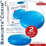 Trendy Bamusta Coxim XXL, Sitzkissen, blau 50cm Ø 15cm hoch Rücken Haltung