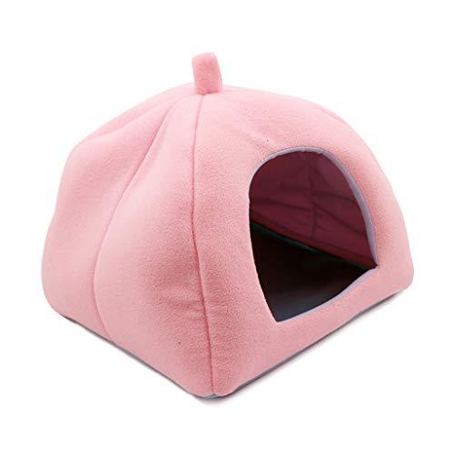Per animali domestici Tenda Pet Cave Bed For Gatti / Cani Di Piccola Taglia - 2-in-1 Kitten Nido / Letto Con Removibile Lavabile Imbottito For Interni Esterni elegante e comoda(Adatto per