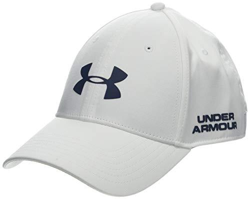 Under Armour Men's Golf Headline 2.0 cap, Cappello Uomo, Bianco (White/Academy), L/XL