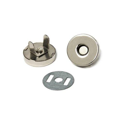 MTS Magnete, Magnetschließe, magnetischer Verschluss für Kleidung, Taschen, Mappen, 10 x Magnetknopf, Ø 18 mm Mts Fällen