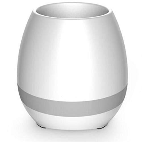 CWW Intelligente Musik Blumentopf Touch Induktion Kann Stahl Bluetooth-Lautsprecher Spielen