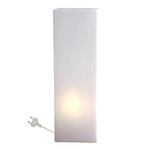 Slide Stehlampe IO, H 60, Weiß