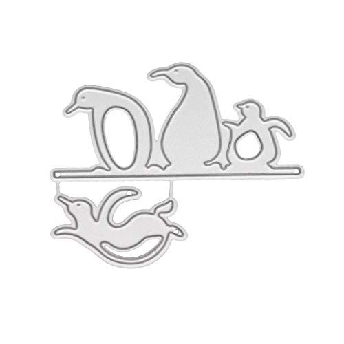 YoungerY (1 Satz DIY geprägte Stanzform sterben Clipart Album Stempel geprägte Handwerk Dekoration - cool Candy Box