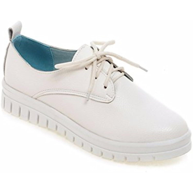 Escarpins Femme/Ouvert/Fond Doux Soft Flat Chaussures d'étudiant Chaussures Chaussures d'étudiant Chaussures de l'automne Taille,Blanc 35 - B075H6TQQ9 - 9d7ab8