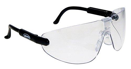 AO Sicherheit 247-15152-00000-100 Lexa Schwarz Clr Mediumm Schutzbrille Klar L -