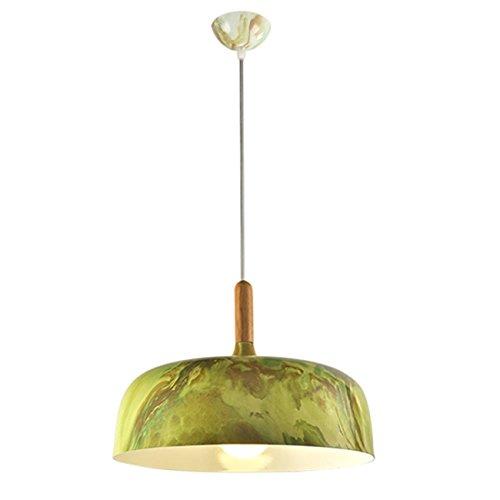 GRFH Modern Kreativ Metallic Aluminium Holz Textur Sonnenschirm Cap Cover Schatten Restaurant...