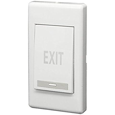 Interruptor de empuje de salida - SODIAL(R)Panel de botones de estreno de puerta electrica de empuje de salida huelga