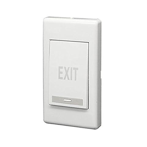 Ausgangs-Druckschalter - SODIAL(R)Ausgangs Druecken Ausloeseknopf Platte fuer Elektro-Tueroeffner