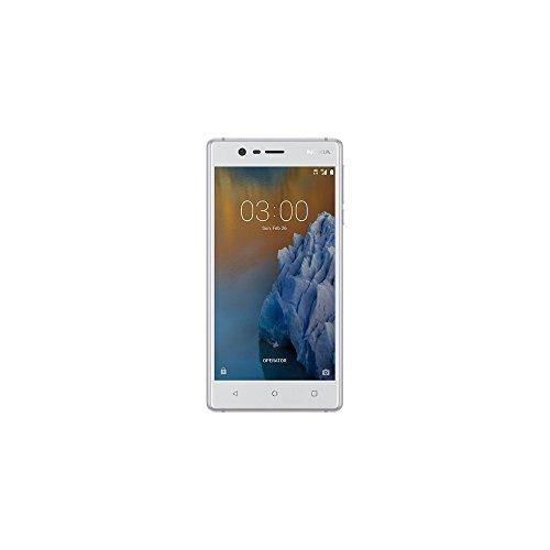 Nokia 3 Smartphone, 16 GB, Bianco [Italia]