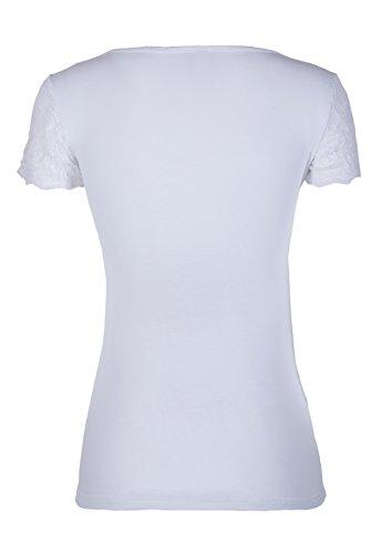 CAPOGIRO Damen Unterhemd Bianco