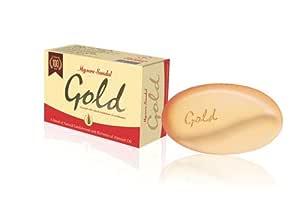 Mysore Sandal Gold Soap, 125 g (Pack of 3)