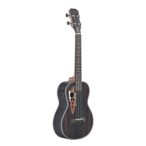 Caramel, ukulele tenore acustico ed elettrico CT904, in palissandro, con truss rod
