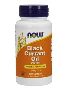 Now - Black Currant Oil 500 Mg 100 Softgels - 31UTpagHXgL