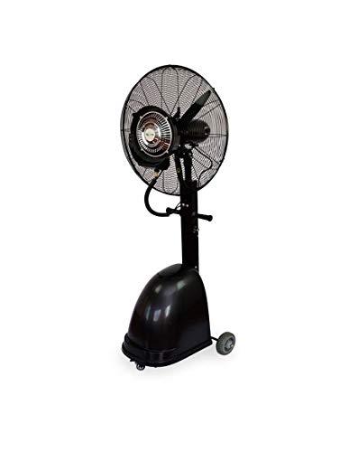 Agoora - Ventilatore Umido Industriale con Ventola Oscillante a Nebulizzatore d'acqua, diametro 65 cm - AG/MF-650B