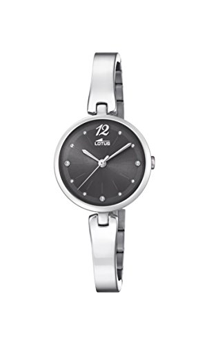 Lotus Watches Womens Analogue Classic Quartz Watch with Stainless Steel Strap 18445/4
