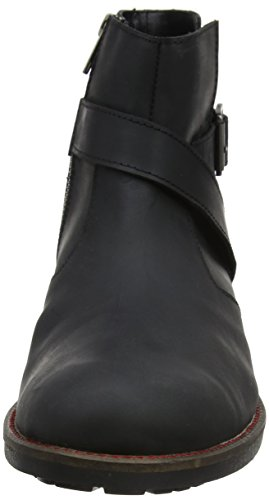 Joe Browns Oiled Black Buckle Boots, Desert boots homme Black (a-black)