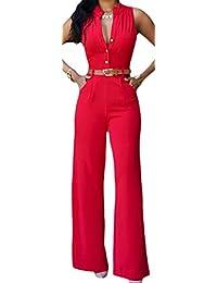 suchergebnis auf f r overall damen festlich rot jumpsuits damen bekleidung. Black Bedroom Furniture Sets. Home Design Ideas