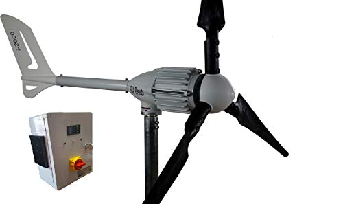 Istapower Aerogenerador 2000w 48v+Regulador de Carga Hybrido 2000w 48v