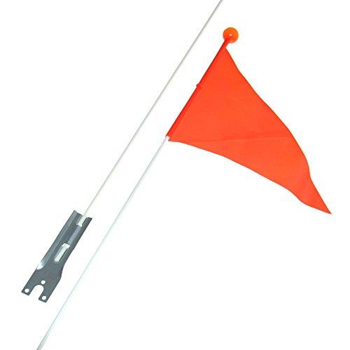 erheitswimpel Fahne Wimpel Fähnchen Orange Fahrrad Sicherheit Wackelfahne Winker Neu Otto-Harvest (Wimpel Fahnen)