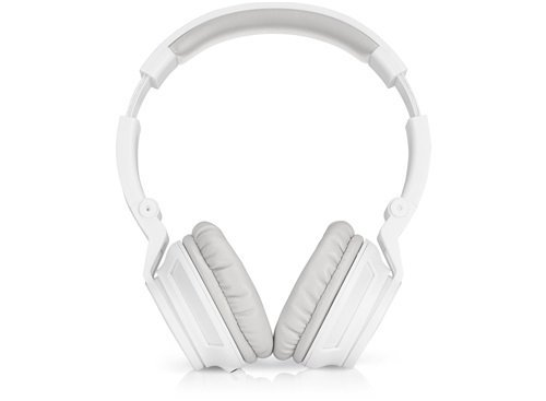 Preisvergleich Produktbild HP H3100 (T3U78AA) Over-the-Ear Kopfhörer (Rauschunterdrückung,  Mikrofon,  3, 5 mm Audiokabel) für Computer,  Tablets,  Smartphones,  MP3-Player,  Notebooks in weiß