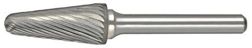 Alfa Kegel (ALFA Tools b71285sl-6Single Cut Hartmetall-Frässtifte mit Verjüngung Konus Radius)