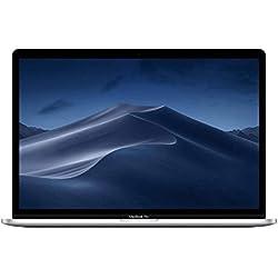 Apple MacBook Pro (15 pouces, Processeur Intel Core i9 8 cœurs de 9e génération à 2,3 GHz, 512 Go) - Argent (Dernier Modele)