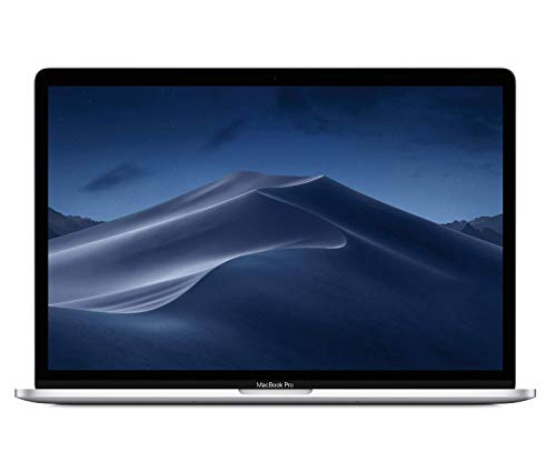 Apple MacBook Pro (de 15 pulgadas con Touch Bar, Intel Core i7 de seis núcleos a 2,2 GHz de octava generación, 256GB) - Plata
