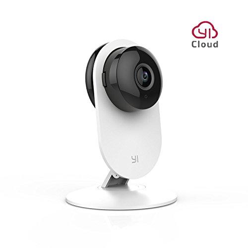 YI Cámara de Vigilancia Interior 720P Domo Cámara IP Seguridad WiFi Monitor de Bebé Mascota Inalámbrica con Visión Nocturna Detección Movimiento - Servicio de Nube Disponible