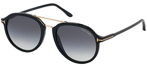 Tom Ford Sonnenbrillen RUPERT FT 0674 BLACK/GREY SHADED Herrenbrillen