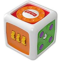 Fisher-Price My First Fidget Cube, Baby Activity and Sensory Toy with Different Textures, Colours and Sounds, 6 Months Plus - ukpricecomparsion.eu