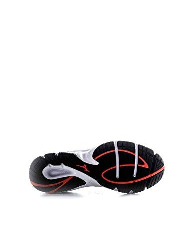 Mizuno - Mizuno Scarpe Running Crusade 8 Argento Nero Arancio Pelle Tela Lacci 140311 ARGENTO/ARANCIO