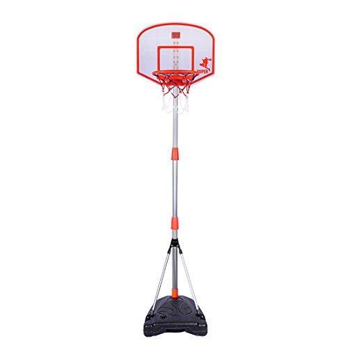 Jo332Bertram Basketballständer, 170cm Höhenverstellbar Basketballkorb Spielzeug Set mit Scoring-Gerät für Kinder