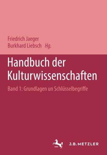 Handbuch der Kulturwissenschaften: Sonderausgabe in 3 Bänden