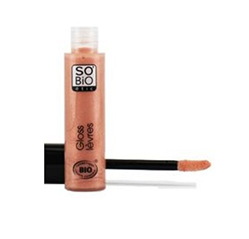 So'Bio Étic Gloss Ultra-Brillante 01 Beige Nude 7 ml Lot de 2