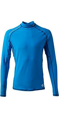 Gill Pro Quick Dry Leichte Rashweste Top Blau - Easy Stretch UV Sonnenschutz und SPF-Eigenschaften Langarm -