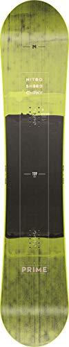 Nitro Snowboards Prime Wide Toxic BD'19 Board - Tavola da Snowboard da Uomo, Uomo, 1191-830342, Multicolore, 156