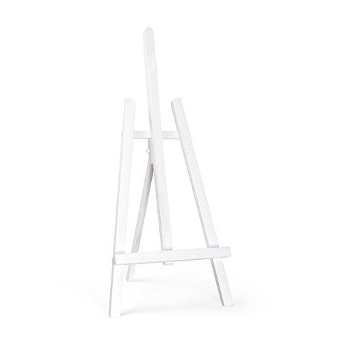 Quantum Art aus Holz Tisch Top Easel-Essex, Buchenholz, Weiß, 600mm-24-2ft
