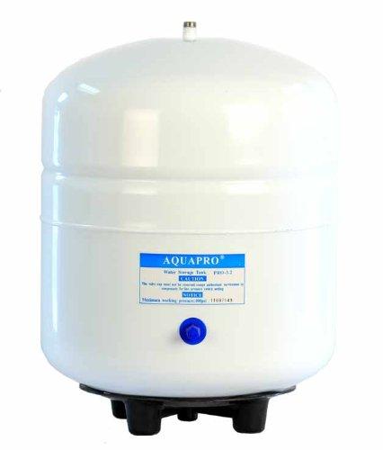 Purenex PRO 3.2 Reverse Osmosis Water Storage Pressure Tank by Purenex (2 Stainless Gal Steel Tank)