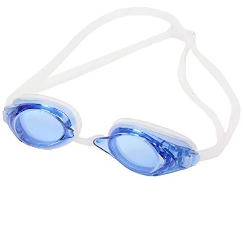 SWANS optische Schwimmbrille FO-2-OP blau - getönte Schwimmbrille für Kurzsichtige, Sehstärke:-3.5