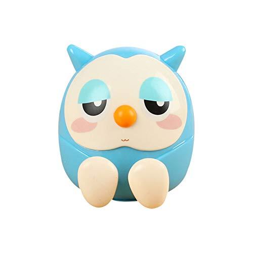Ruiting Eulen-Form-Piggy Bank-Telefon-Halter-Blaue Tabellen-Verzierung-Kind-Geschenk-Multifunktions Owl Design Münzen-Geld-Box (Telefon Owl)