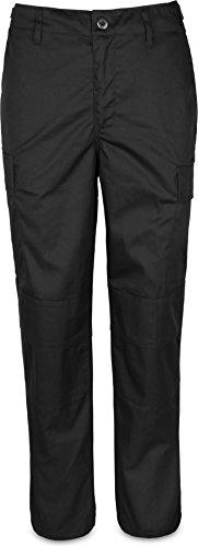normani Damen Outdoor Trekkinghose BDU Rangerhose Wasserabweisende Pant Farbe Schwarz Größe L