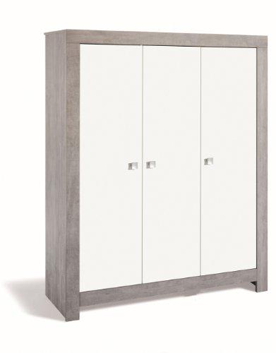Schardt 06 791 22 00 3- türiger Kleiderschrank Nordic driftwood/weiß