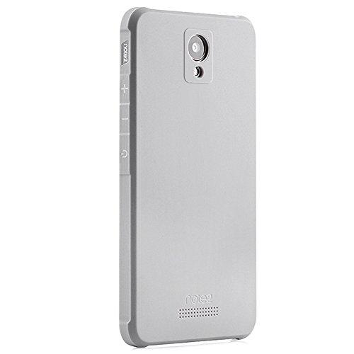 Schutzhülle XiaoMi RedMi Note 2 Hülle, Business Serie Stoßfest Ultra Dünn Weich Silikon Rückseite Fall für XiaoMi RedMi Note 2 (Hellgrau)