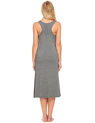 Keelied -  Camicia da notte  - linea ad a - Donna Grey