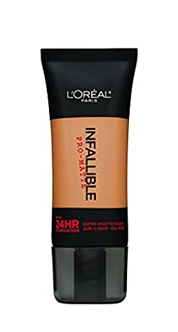 L'Oreal Paris Cosmetics Infallible Pro-Matte Foundation Makeup, Natural Beige, 1 Fluid Ounce by L'Oreal Paris